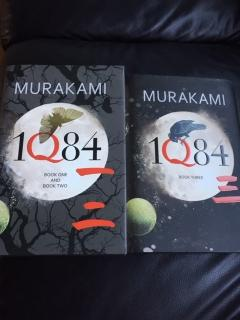 1Q84 BOOKS ONE, TWO AND THREE
