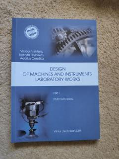 Design Of Machines And Instruments Laboratory Work