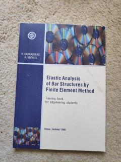 Elastic Analysis of Bar Structures by Finite Element Method