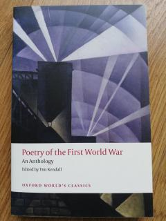 Poetry of the First World War. An Anthology