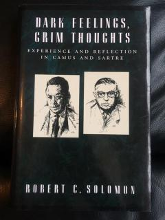 Dark Feelings, Grim Thoughts (Experience and Reflection in Camus and Sartre)