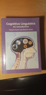 cognitive linguistics an introduction