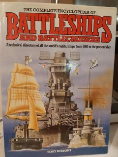 The complete encyclopedia of Battleships and Battlecruisers