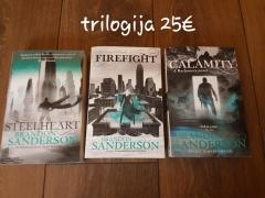 A Reckoner trilogy: Steelheart, Firefight, Calamity