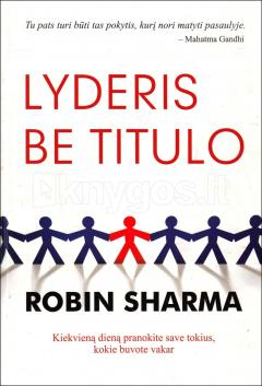 Lyderis be titulo