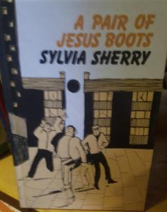 A pair of Jesus boots