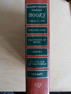 Reader's Digest Condensed Books, volume 2.The New Year.The Tower of Babel.Airport.To the Top of the World.The Baitų.