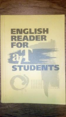english reader for art students-anglų kalbos skaitiniai
