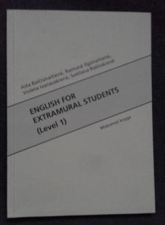 English for Extramural Students