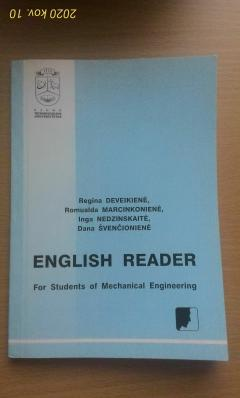 English Reader for students of Mechanical engineering
