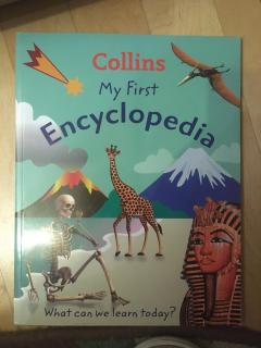 My first encyclopedia