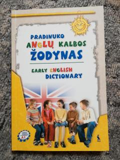 Pradinuko anglų kalbos žodynas. Early english dictionary