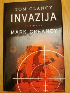 mark greaney tom clancy invazija