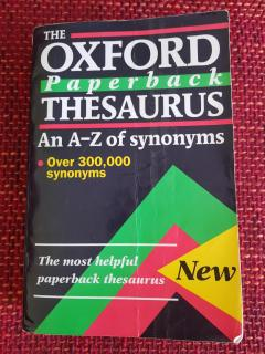 The Oxford Paperback Thesaurus An A-Z of synonyms