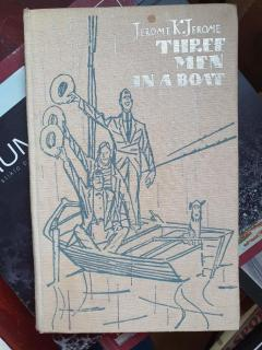 Three men in a boat (to say nothing of a dog)