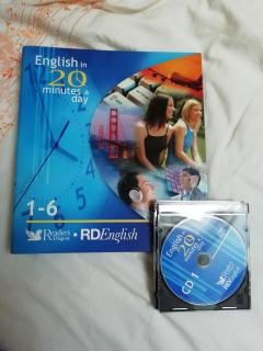 English in 20 minutes a day (1-6)