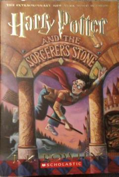 """Harry Potter and the sorcerer""""s stone"""