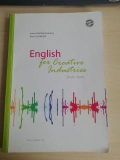 English for Creative Industries
