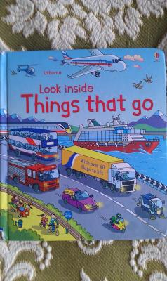 Look Inside Things That Go Hardcover