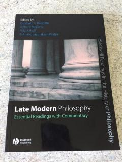 Late Modern Philosophy (Essential Readings With Commentary)