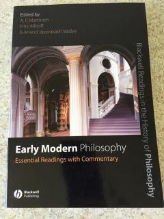 Early Modern Philosophy (Essential Readings with Commentary)