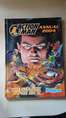Action Man Annual 2004. The Search for Dr X