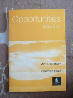 Opportunities. Beginner. Mini-Dictionary