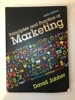 Principles and Practice of Marketing (sixth edition)