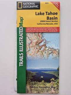 Lake Tahoe Basin Trails Illustrated Other Rec. Areas (National Geographic Maps: Trails Illustrated) Map Edition by National Geographic Maps published by NATIONAL GEOGRAPHIC MAPS DIVISION (2012)