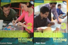 Real Writing 2 with answers/Pre-Intermediate and Real Writing 3 with answers/Intermediate- Upper-Intermediate .