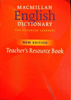 English Dictionary for Advanced Learners Teacher's Resource Book