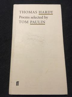 Poems selected by TOM PAULIN