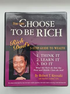 You Can Choose to Be Rich (12 Cds): 3-step Guide to Wealth [Audio Program 12 Cd]