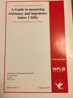 A guide to measuring resistance and impedance below 1 MHz
