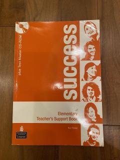 Success elementary teacher's support book