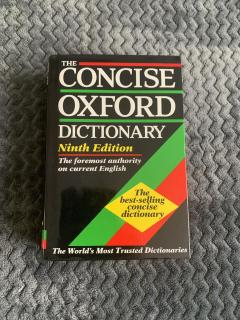 The Concise English Dictionary. Seventh Edition