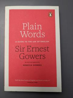 Plain words, A guide to the use of English