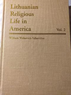 Lithuanian Religious Life in America