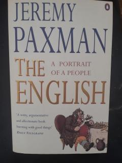 The English. A portrait of a people