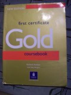 Gold First Certificate Coursebook