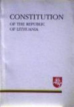 Constitution of the republic of Lithuania