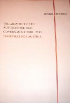 Programme of the Austrian Federal Government 2008-2013