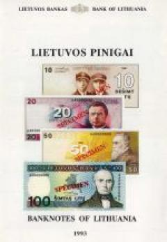 Lietuvos pinigai – Banknotes of Lithuania