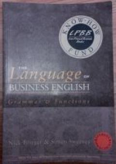 The language of business english. Grammar and functions