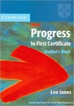 New Progress to First Certificate. Student's book