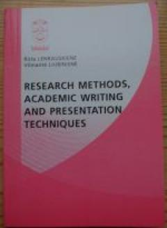 Research Methods, Academic Writing and Presentation Techniques