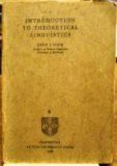 Introduction to theoretical linguistics (part 4)