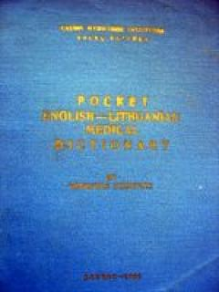 Pocket english-lithuanian medical dictionary
