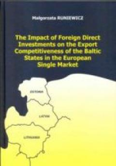 The Impact of Foreign Direct Investments on the Export Competitiveness of the Baltic States in the European Single Market