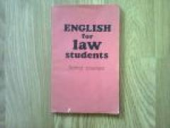 English for law students. Senior Courses